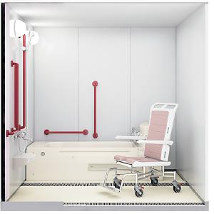 2階の特殊浴室
